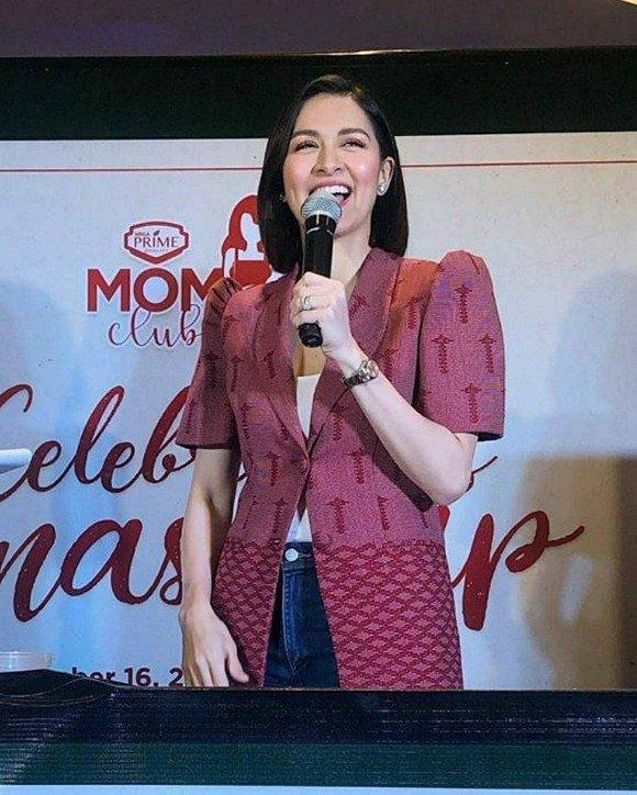 Bị chê mũm mĩm sau sinh, mỹ nhân đẹp nhất Philippines mặc gì để che bắp tay to?-7