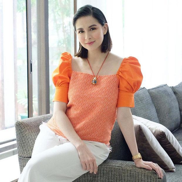 Bị chê mũm mĩm sau sinh, mỹ nhân đẹp nhất Philippines mặc gì để che bắp tay to?-8
