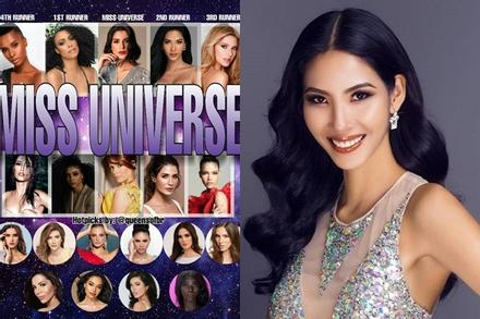 Bản tin Hoa hậu Hoàn vũ 18/11: Hoàng Thùy liên tục được nhắm top 5, Việt Nam sẽ có kỳ tích mới?