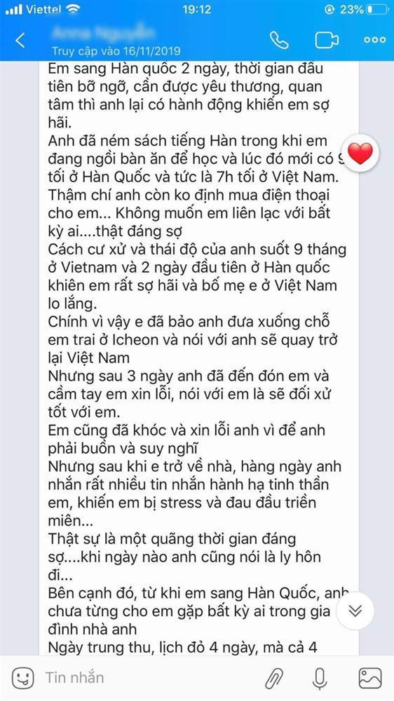 Xót xa những dòng tin nhắn cuối cùng nghi của cô dâu Việt gửi chồng Hàn Quốc trước khi bị sát hại rồi giấu xác-2