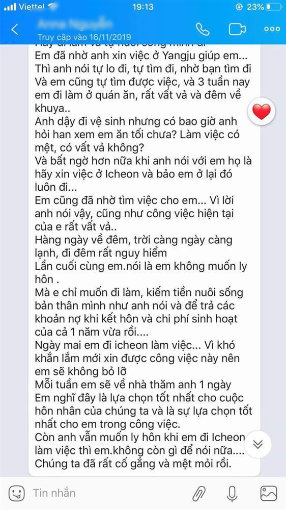 Xót xa những dòng tin nhắn cuối cùng nghi của cô dâu Việt gửi chồng Hàn Quốc trước khi bị sát hại rồi giấu xác-3