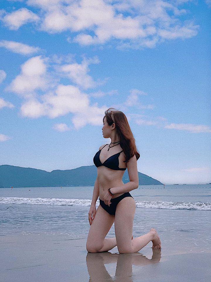 Bạn gái hotgirl của Văn Toàn liên tục tung ảnh bikini khoe 3 vòng bỏng mắt-4