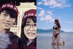 Bạn gái hotgirl của Văn Toàn liên tục tung ảnh bikini khoe 3 vòng 'bỏng mắt'