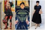 Hòa Minzy mặc đồ rộng thùng thình giữa tin đồn sinh nở - Đức Phúc khoe street style mà ngỡ đi lặn
