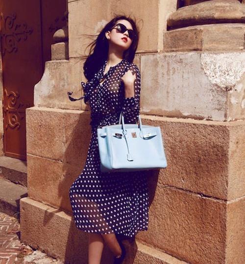 Ngọc Trinh lại lỡ phải lòng một chiếc túi Hermès giá trị bằng cả căn nhà-7