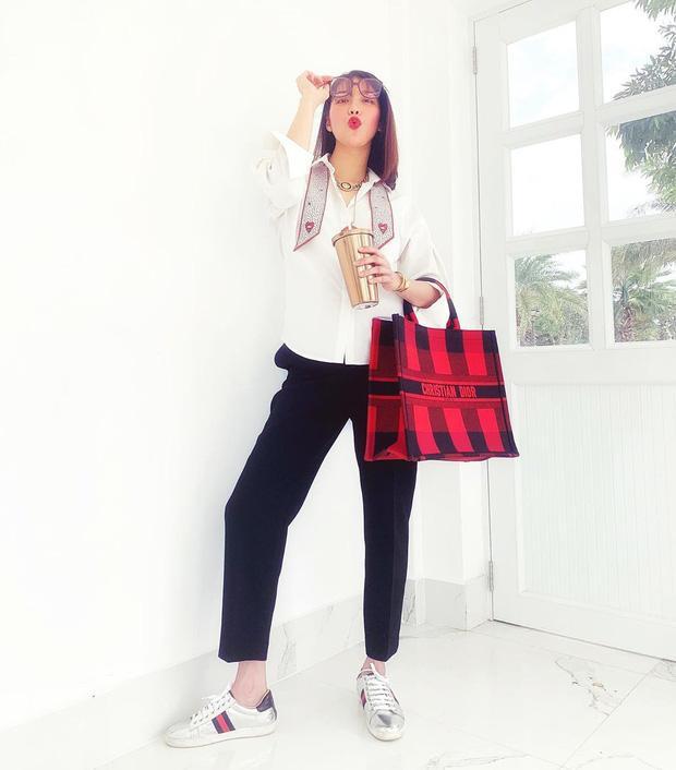 Kỳ Duyên - Minh Triệu diện đồ đôi chất lừ như bìa tạp chí, nổi nhất street style tuần qua-4