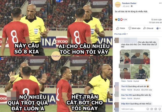 t.ừ ch.ối b.àn th.ắng của Bùi Tiến Dũng, fans Việt vào FB trọng tài Ahmed Alkaf thả ph.ẫn n.ộ-1