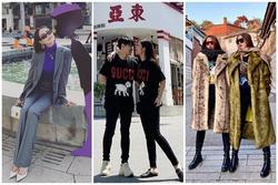 Kỳ Duyên - Minh Triệu diện đồ đôi chất lừ như bìa tạp chí, nổi nhất street style tuần qua