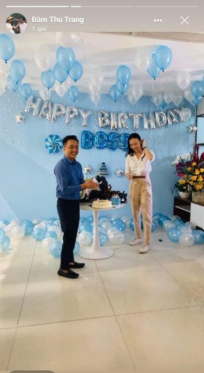 Đàm Thu Trang khoe ảnh hạnh phúc, đón sinh nhật lần đầu tiên với tư cách vợ Cường Đô La-3