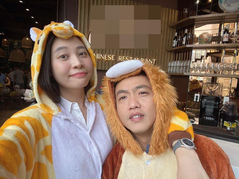 Đàm Thu Trang khoe ảnh hạnh phúc, đón sinh nhật lần đầu tiên với tư cách vợ Cường Đô La-2