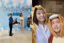 Đàm Thu Trang khoe ảnh hạnh phúc, đón sinh nhật lần đầu tiên với tư cách vợ Cường Đô La