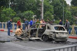 Nữ tài xế Mercedes gây tai nạn do không làm chủ tốc độ