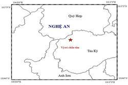 Động đất mạnh 4,2 độ richter xảy ra ở Nghệ An