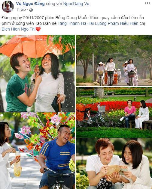 Ngắm loạt ảnh chưa từng tiết lộ của Tăng Thanh Hà cách đây 12 năm-1