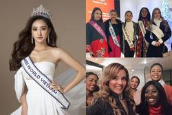 HOANG MANG: Thí sinh Miss World 2019 đã tề tựu ở Anh, Lương Thùy Linh vẫn chưa lên đường