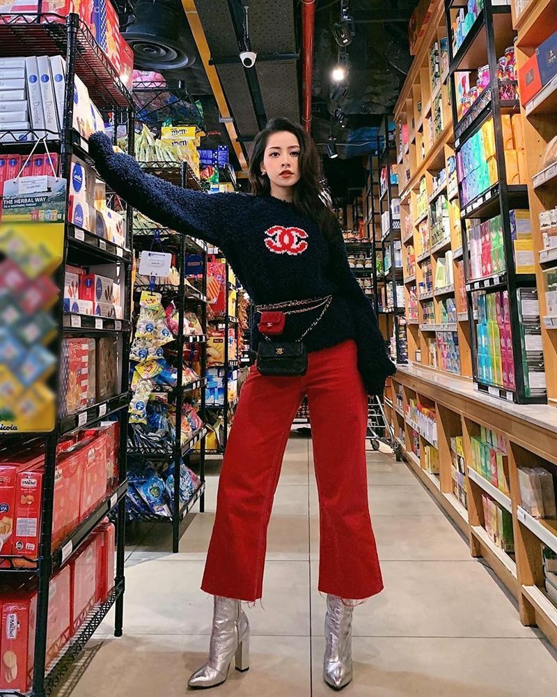 Chi Pu lên đồ kiểu sợ người ta không biết mình mặc hàng hiệu, đụng độ thánh dìm Phượng Chanel-2