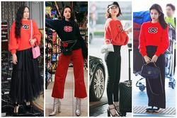 Chi Pu lên đồ kiểu 'sợ người ta không biết mình mặc hàng hiệu', đụng độ 'thánh dìm' Phượng Chanel