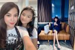 Lâu lâu mới xuất hiện, con gái Trương Ngọc Ánh gây bất ngờ với đôi chân dài miên man ở tuổi 11