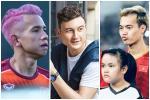 Hồng Duy, Văn Toàn thích nhuộm tóc màu nổi nhất đội tuyển Việt Nam