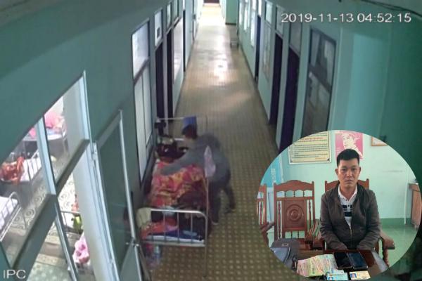 Bị tung clip lên facebook, tên trộm ở Kon Tum vội ra đầu thú-1