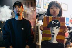 Câu chuyện fan nhí vẽ tranh tặng Đen Vâu và lời nhắn 'cưng xỉu' của nam rapper