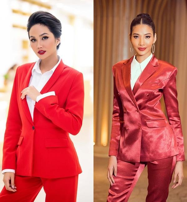 Bản tin Hoa hậu Hoàn vũ 21/11: HHen Niê chặt đẹp Hoàng Thùy khi lên đồ y chang phong cách-2