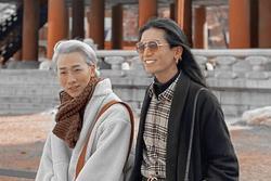 BB Trần - Hải Triều sánh đôi đi du lịch, dân mạng hết hồn tưởng 'hai công công tuổi xế chiều'