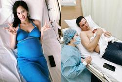 MC Phương Mai chính thức hạ sinh quý tử đầu lòng với ông xã ngoại quốc