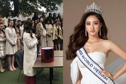 Miss World 2019 có phần thi đầu tiên, Lương Thùy Linh chưa lên đường vẫn quyết tâm hừng hực