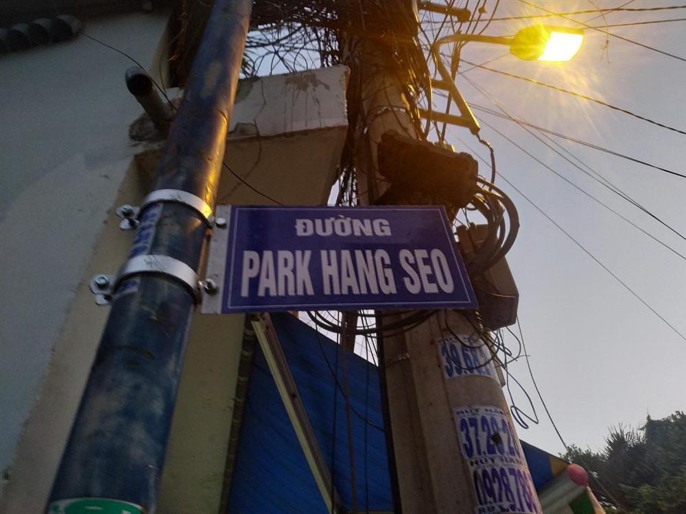 Người Sài Gòn ngỡ ngàng khi thấy tên đường Park Hang Seo-1