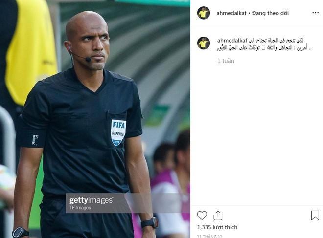 Trọng tài Oman mở lại trang cá nhân nhưng khóa phần bình luận-1