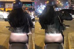 Mặc quần mỏng như tờ giấy để lộ nguyên vòng 3 rồi vi vu khắp phố Hà Nội, cô gái trẻ bị chỉ trích gắt