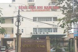 Bắt 2 điều dưỡng Bệnh viện Nhi Nam Định