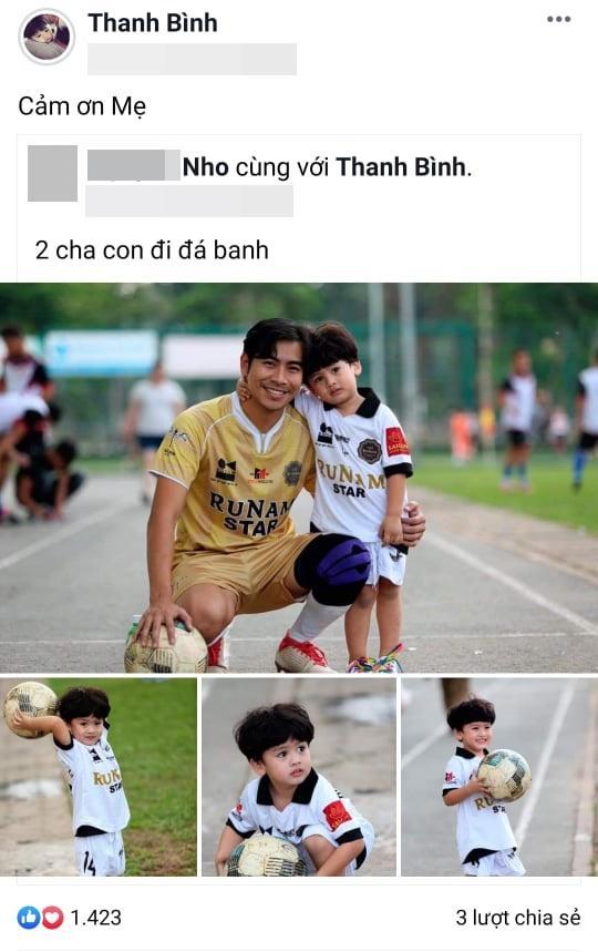 Dù đã ly hôn, Thanh Bình vẫn gọi mẫu thân Ngọc Lan là mẹ và đưa con trai về thăm ngoại-3
