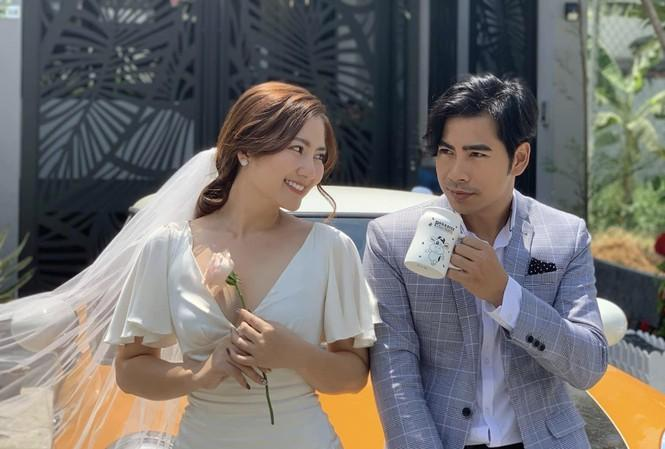 Dù đã ly hôn, Thanh Bình vẫn gọi mẫu thân Ngọc Lan là mẹ và đưa con trai về thăm ngoại-4