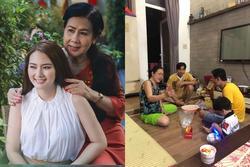 Dù đã ly hôn, Thanh Bình vẫn gọi mẫu thân Ngọc Lan là 'mẹ' và đưa con trai về thăm ngoại