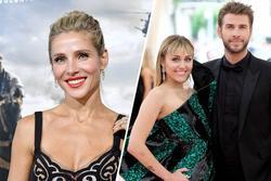 Vợ Chris Hemsworth chê Miley Cyrus không xứng với Liam