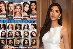 Bản tin Hoa hậu Hoàn vũ 22/11: Hoàng Thùy rất vững hạng, 'đe dọa' đối thủ trước ngày lên đường