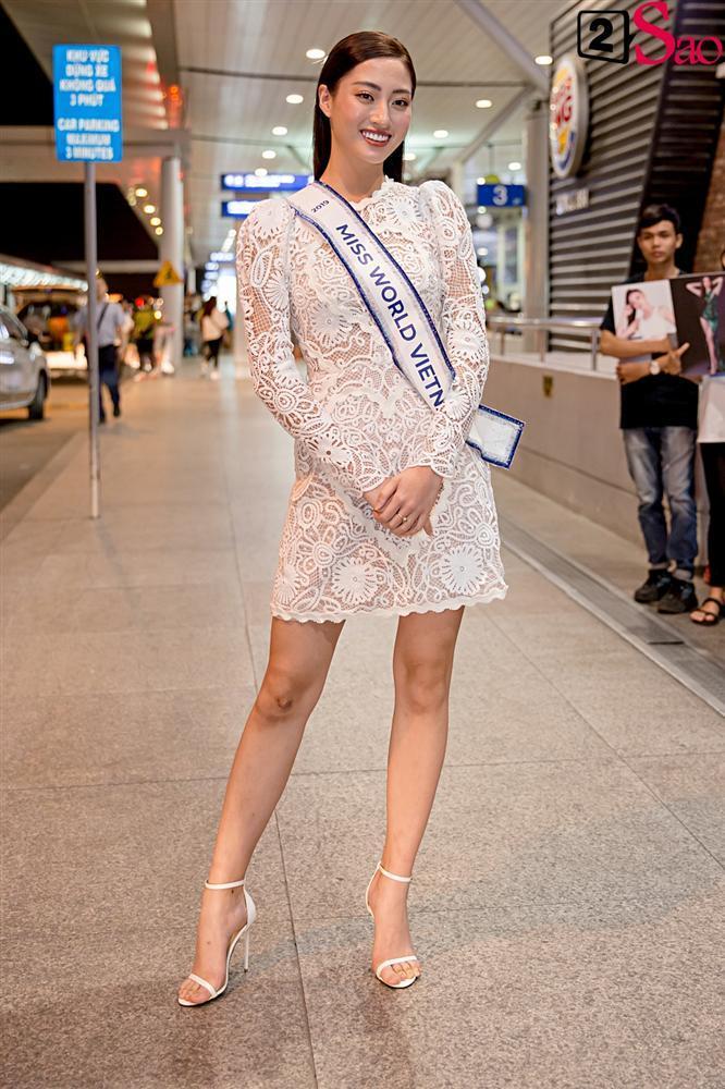 Dàn hoa hậu đổ bộ sân bay lúc nửa đêm tiễn Lương Thùy Linh lên đường thi Miss World 2019-1