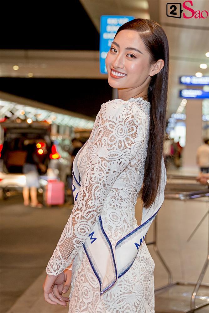 Dàn hoa hậu đổ bộ sân bay lúc nửa đêm tiễn Lương Thùy Linh lên đường thi Miss World 2019-3