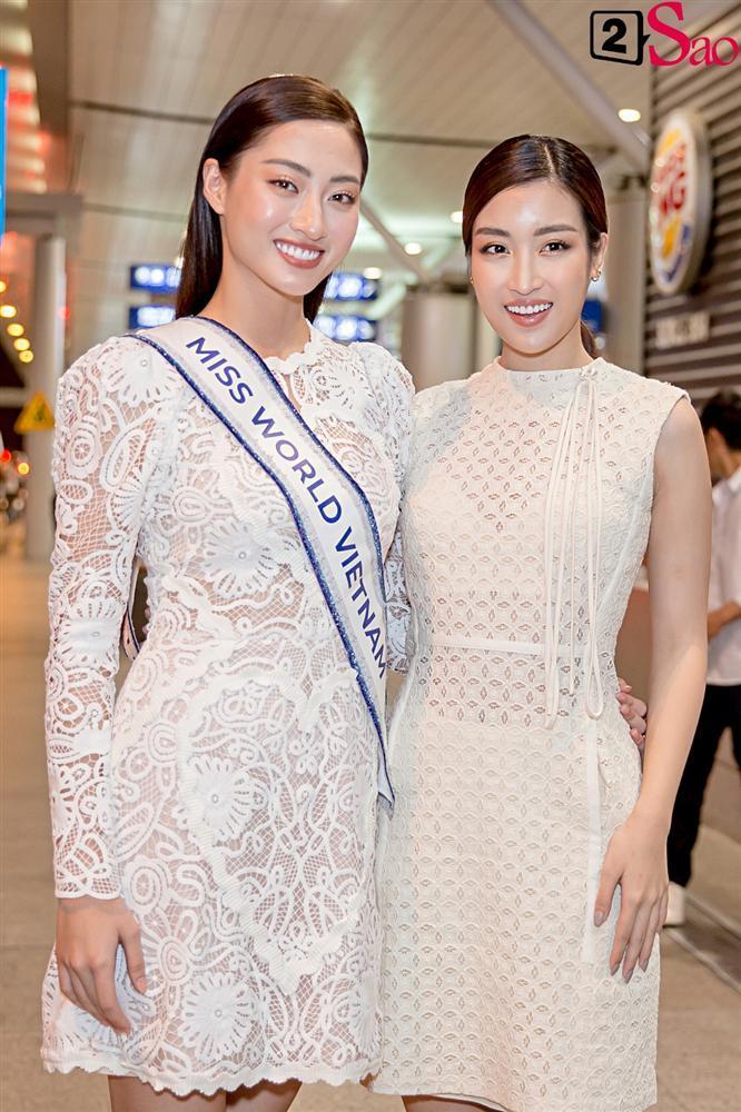 Dàn hoa hậu đổ bộ sân bay lúc nửa đêm tiễn Lương Thùy Linh lên đường thi Miss World 2019-4
