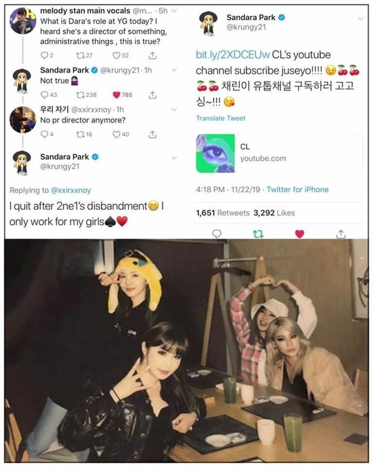 Bị YG tuyệt tình, CL lập kênh YouTube mới và động thái bất ngờ từ Dara-2