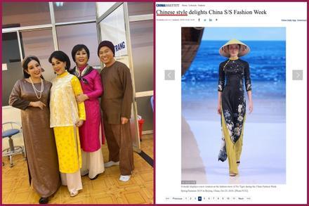 NSND Hồng Vân lên tiếng vụ áo dài Việt bị gọi là phong cách Trung Quốc: 'Đồ ăn cắp, hết lịch sự nổi với chúng mày'