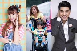 Noo Phước Thịnh, Khởi My và dàn sao Việt phát sốt với hai mẹ con Vlogger Quỳnh Trần - bé Sa