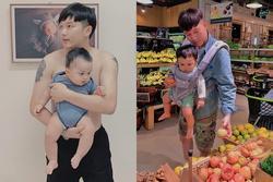 Stylist Lê Minh Ngọc và những ông bố đơn thân nổi tiếng trên mạng