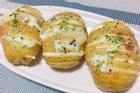 Tự làm khoai tây bỏ lò sốt chanh cho ngày cuối tuần
