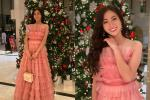Vừa đặt chân tới Miss World 2019, Lương Thùy Linh mặc ngay đầm hồng 'phong thủy' thi tài năng