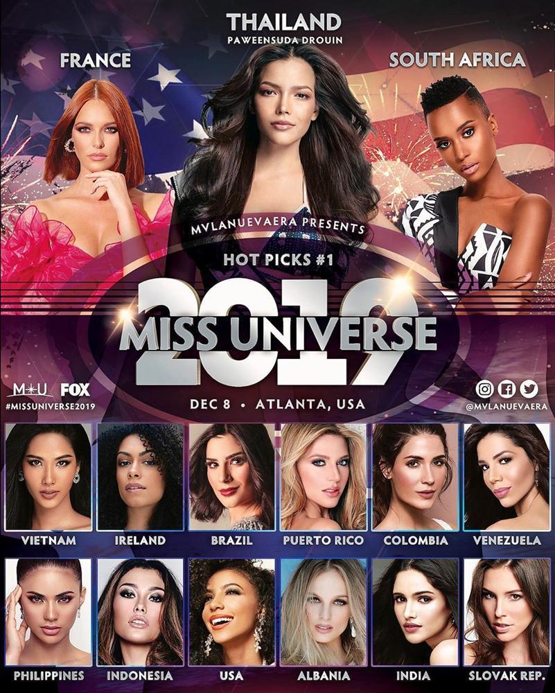 Bản tin Hoa hậu Hoàn vũ 24/11: Hoàng Thùy bất ngờ nhảy lên vị trí No.1 trước giờ lên đường-2