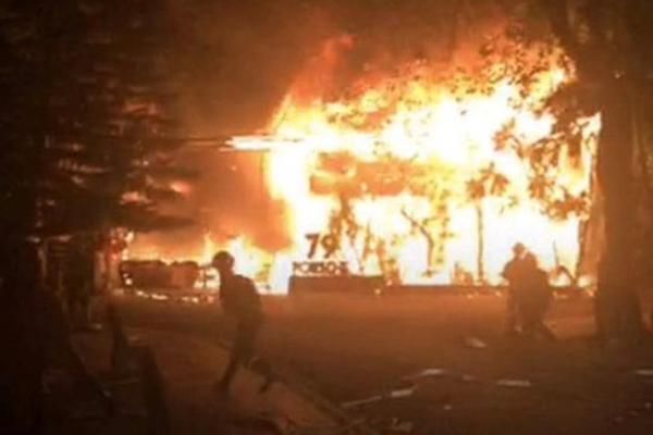 Đắk Lắk: Khu vực đánh nhạc DJ chập điện, nhà hàng bị cháy dữ dội giữa đêm-1