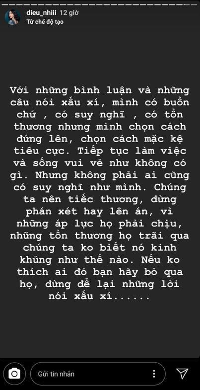 Diệu Nhi u buồn sau cái chết của Goo Hara: Không thích ai đó hãy bỏ qua, đừng để lại lời nói xấu xí-3